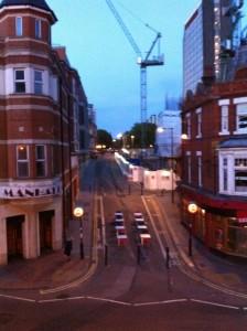 a night in Croydon